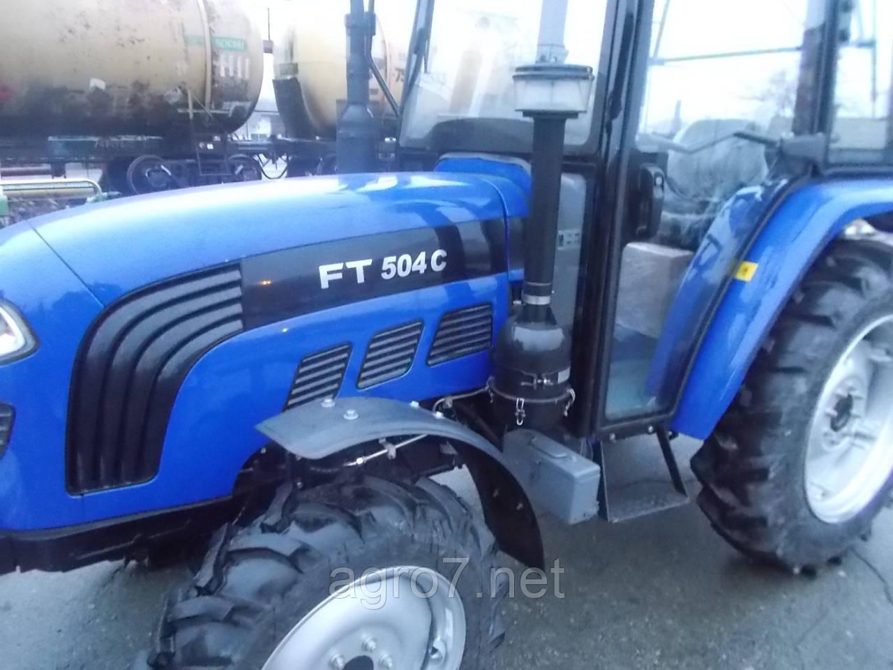 Трактор Foton FT504C 50л.с., реверс, 4*4, кабина.