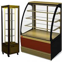 Холодильные кондитерские витрины  и шкафы