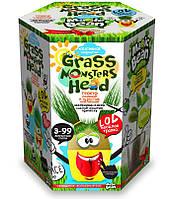 """Набор для креативного творчества """"Grass monsters head"""", травянчик 2"""