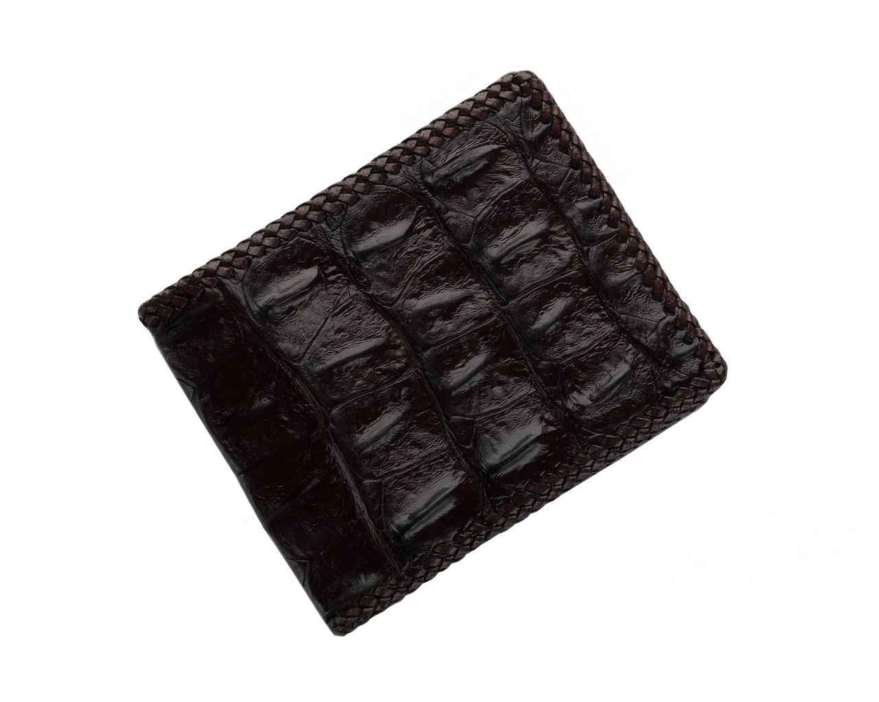 Портмоне мужское из кожи крокодила  Ekzotic Leather