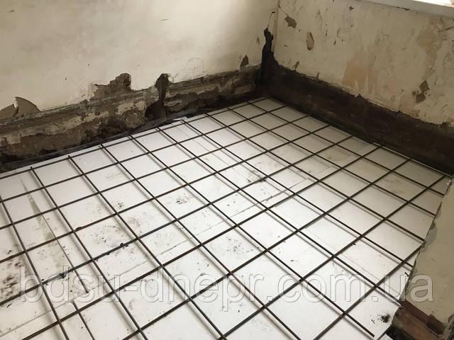 Армированная бетонная стяжка в Днепропетровске