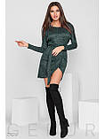 """Сукня-міні з поясом """"Ізабель"""", фото 2"""