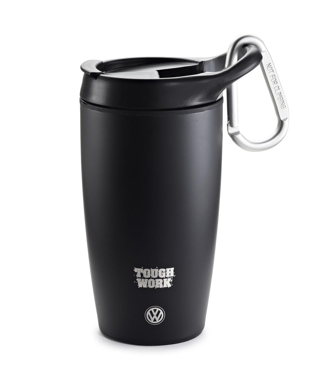 Термочашка Volkswagen Tough Work Thermo Mug, Black (2K0069604)