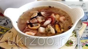 Суп с морепродуктами 300 мл