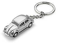 Брелок для ключей Volkswagen Beetle 3D, Classic Key Tag, Silver, (311087010)