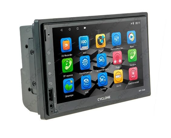 Автомагнитола 2din 7 дюймов Android GPS WiFi CYCLON MP-7040