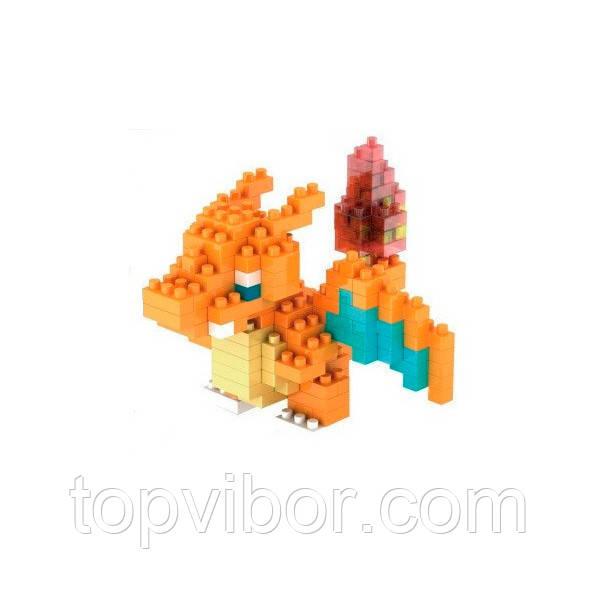 🔝 Блочный конструктор-игрушка LNO, покемон, Чарезард, покемоны, , с доставкой по Украине | 🎁%🚚