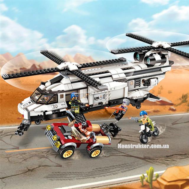 """Конструктор Brick3208 """"Вертолет"""" купить"""