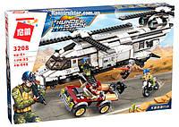 """Конструктор Brick3208 """"Вертолет"""", 648 деталей, фото 1"""