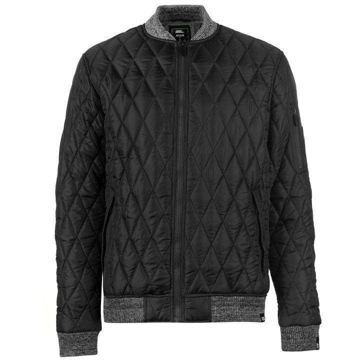 Куртка No Fear Quilted Bomber Jacket Mens
