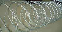 Колючая проволока, егоза, 600/3 мм с повышенной защитой от коррозии