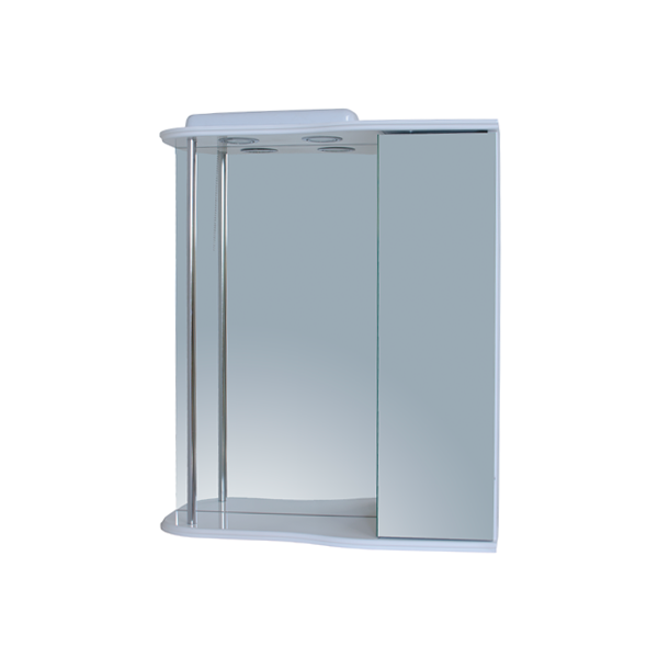 Зеркало для ванной комнаты Базис 60-05 правое ПИК