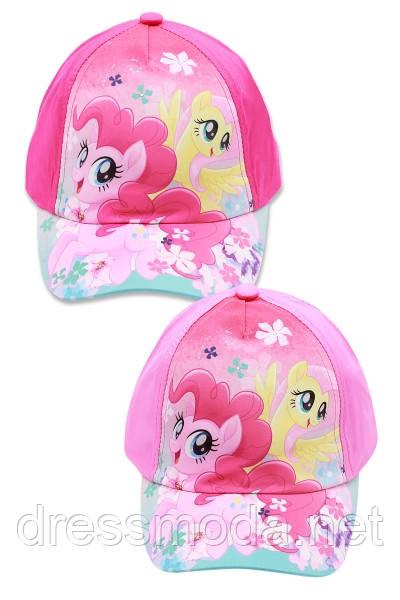 Кепки детские для девочек Little Pony от Disney 52-54 cm