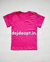 Розовая детская футболка, фото 1