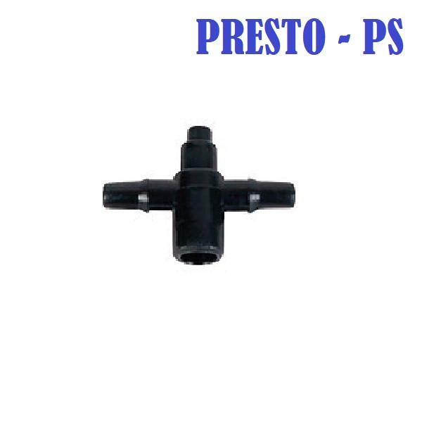 Адаптер 4 мм на 2 выхода для подключения капельниц