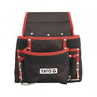 Сумка на пояс для инструмента с карманами Yato YT-7410