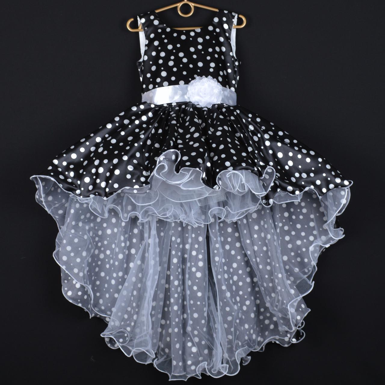 6f9ac0a46b519ca Платье нарядное детское атласное
