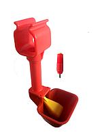 Микрочашечная поилка с поплавковым клапаном
