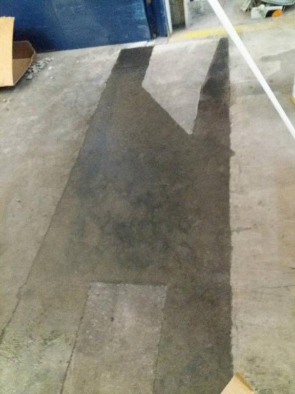 Ремонт бетонных промышленных полов топпинг