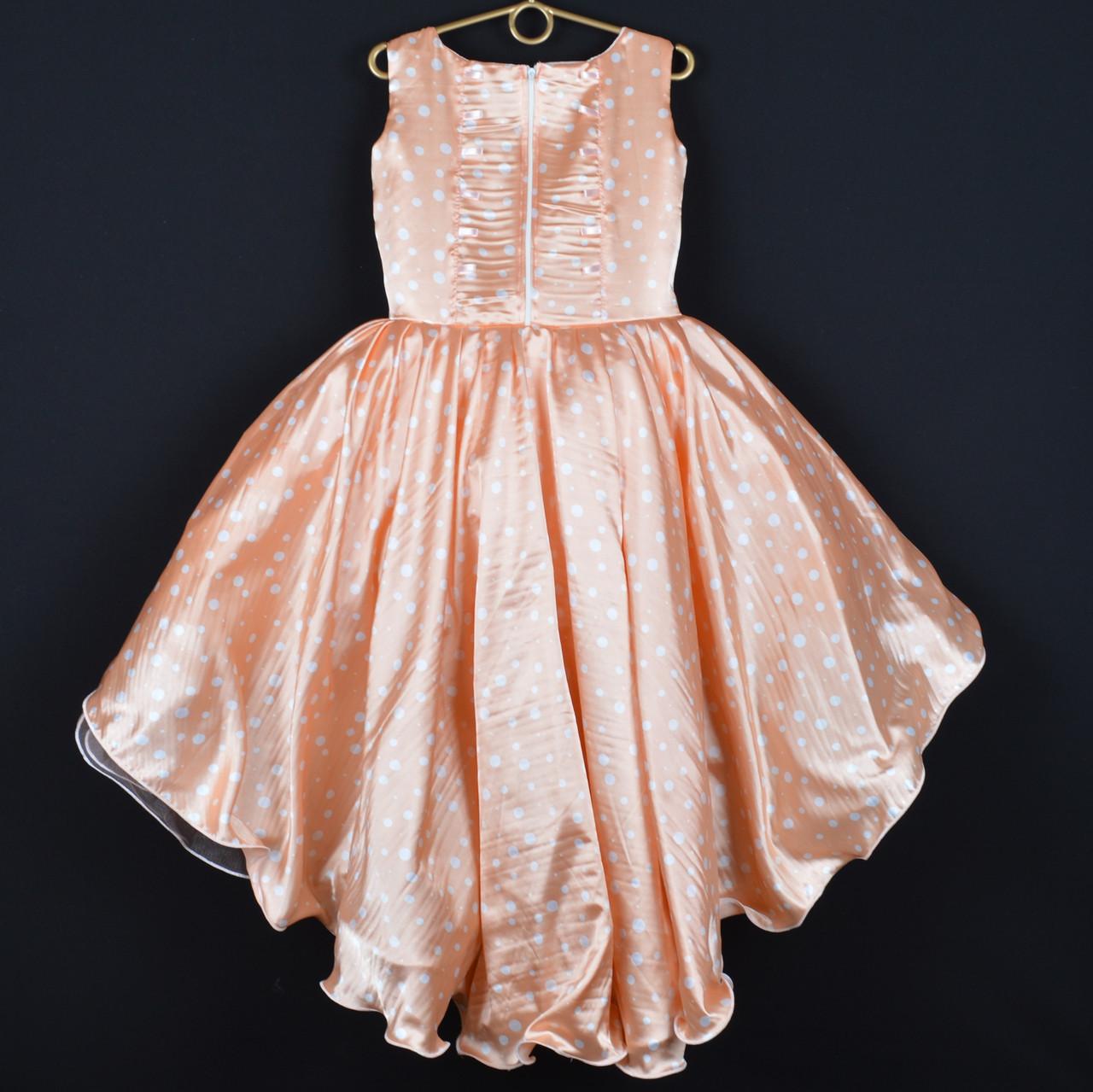 b7be742e04a9f22 Платье нарядное детское атласное