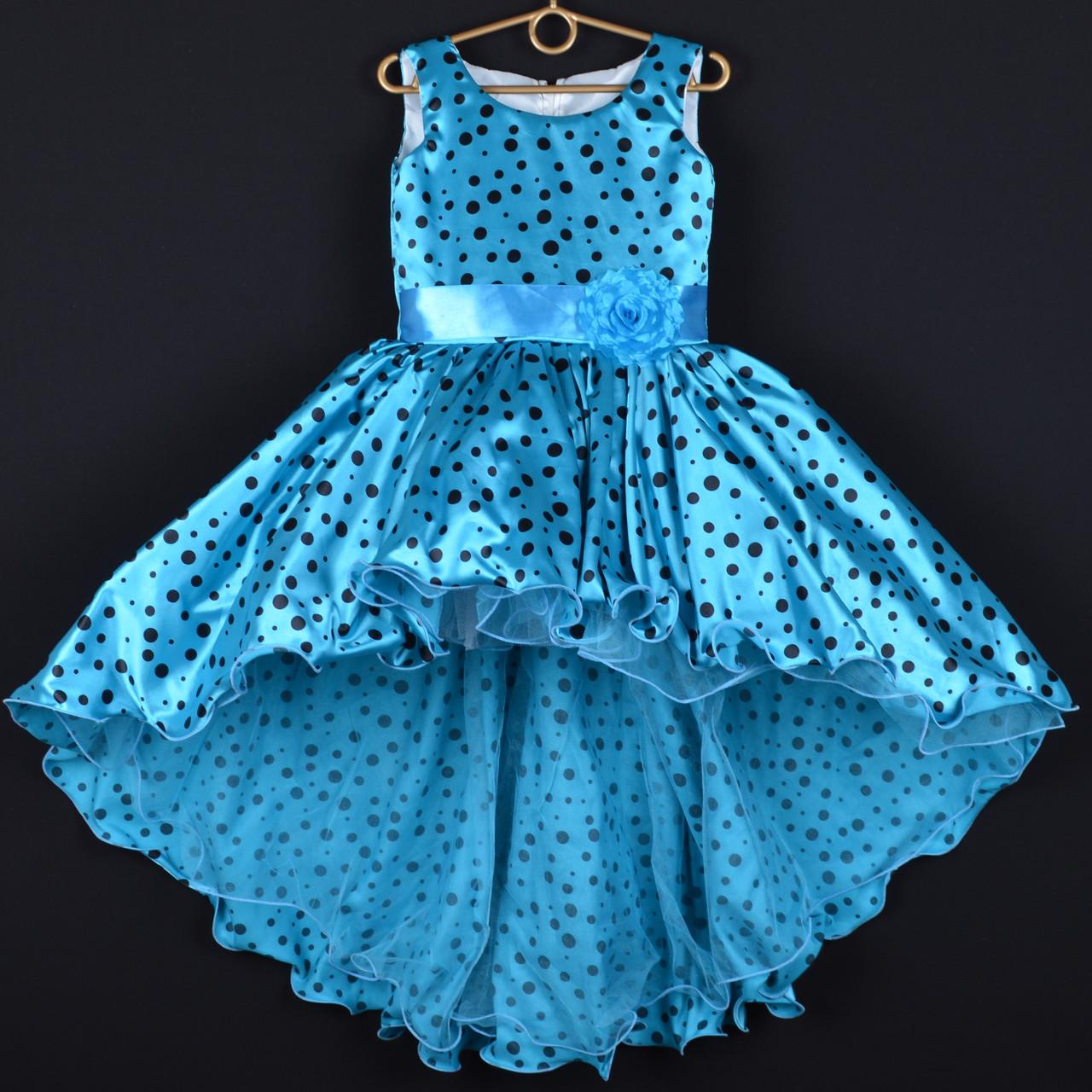 bd02dca41b2 Платье нарядное детское атласное
