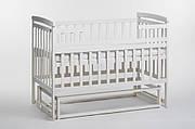 """Кроватка-трансформер """"Baby boat"""", без ящичка, ваниль (DS1-06)"""