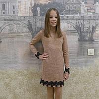 "Платье ""Кружево"" коралл, фото 1"