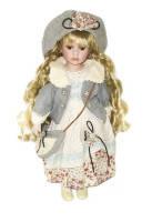 Кукла фарфоровая Глен 40см