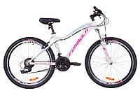 """Жіночий велосипед гірський FORMULA MYSTIQUE AL 2.0 AM VBR 26""""(біло-блакитний з фіолетовим), фото 1"""