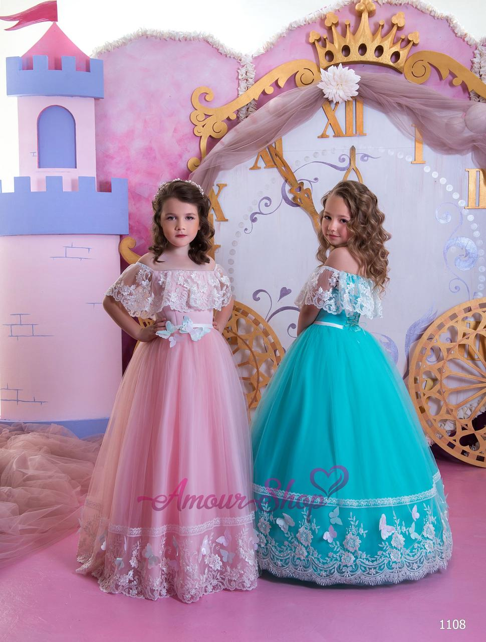 Vip детское нарядное/ вечернее  платье 1108