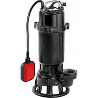 Погружной чугунный фекальный насос для канализации с измельчителем 750Ватт Yato YT-85350