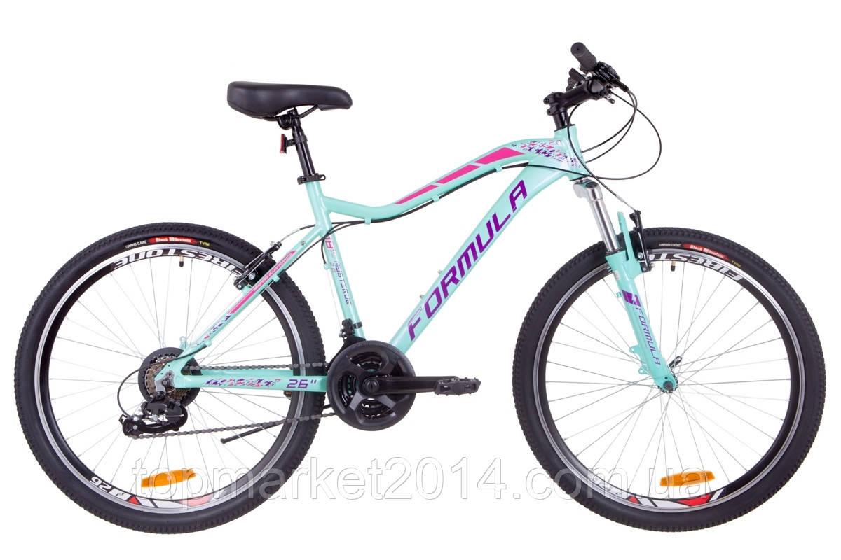 """Жіночий велосипед гірський FORMULA MYSTIQUE AL 2.0 AM VBR 26""""(бірюзовий)"""
