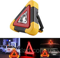 Знак аварійної зупинки + ліхтар HB-6609 / Аварійка автомобільна