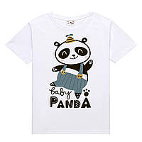 Футболка BABY PANDA дитяча біла