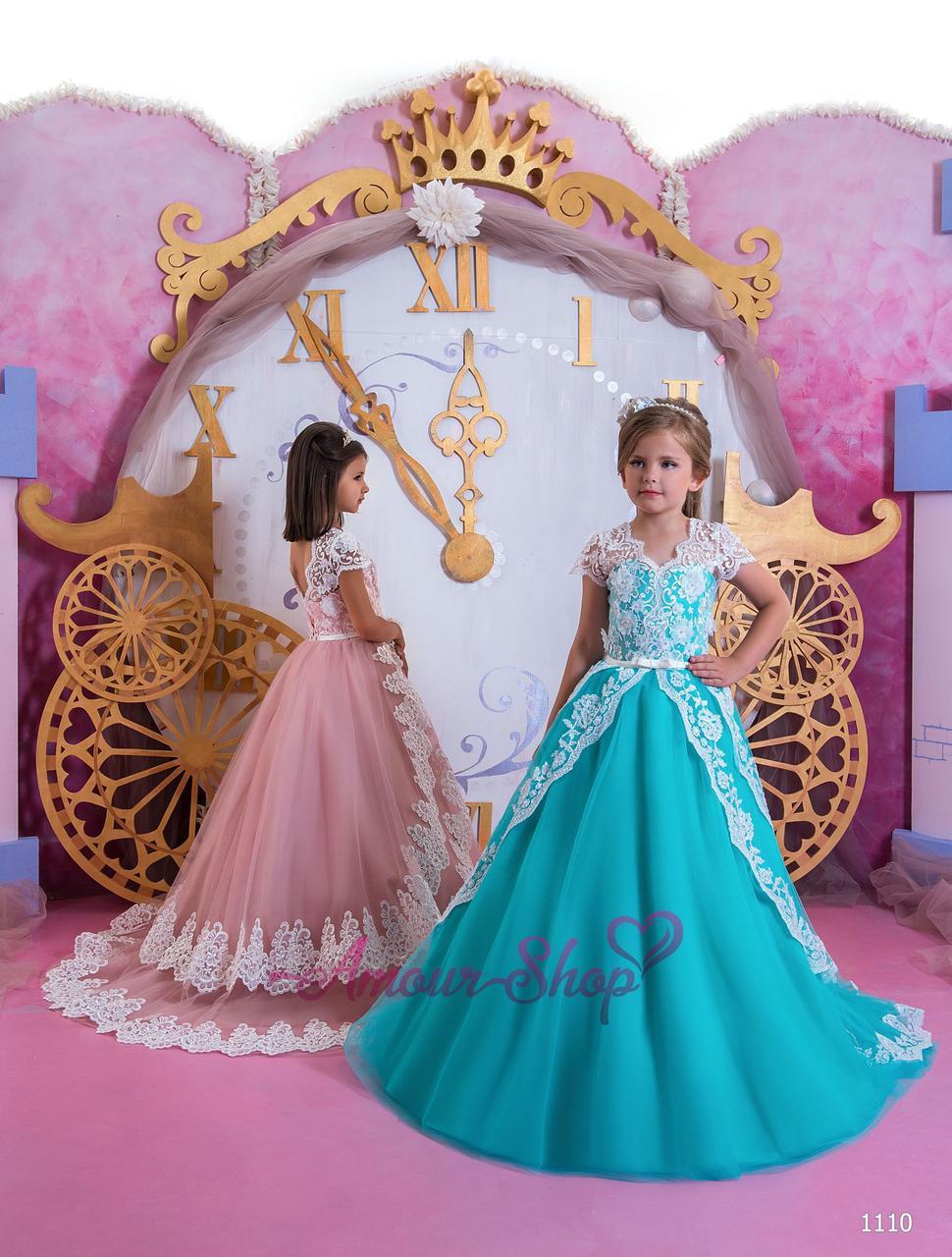 Vip детское нарядное/ вечернее  платье 1110