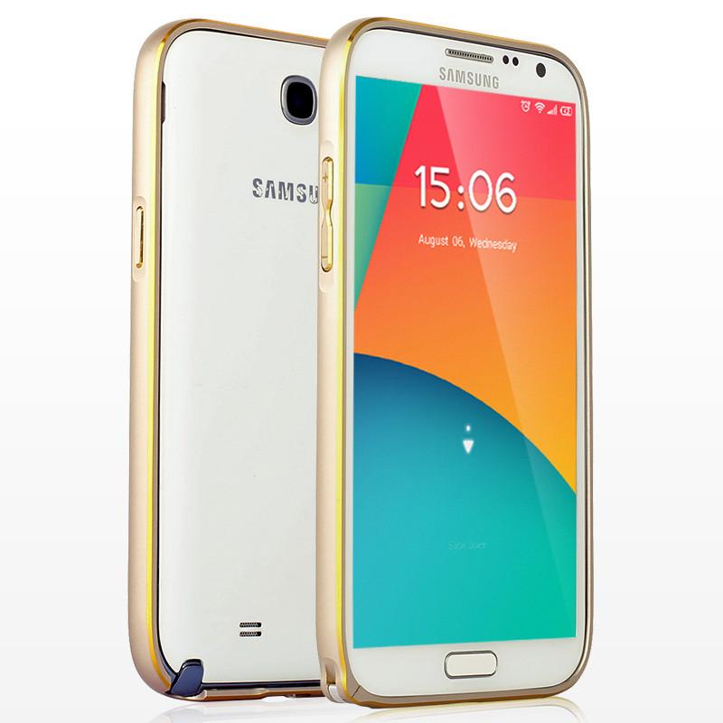 Металлический бампер для Samsung Note 2 N7100