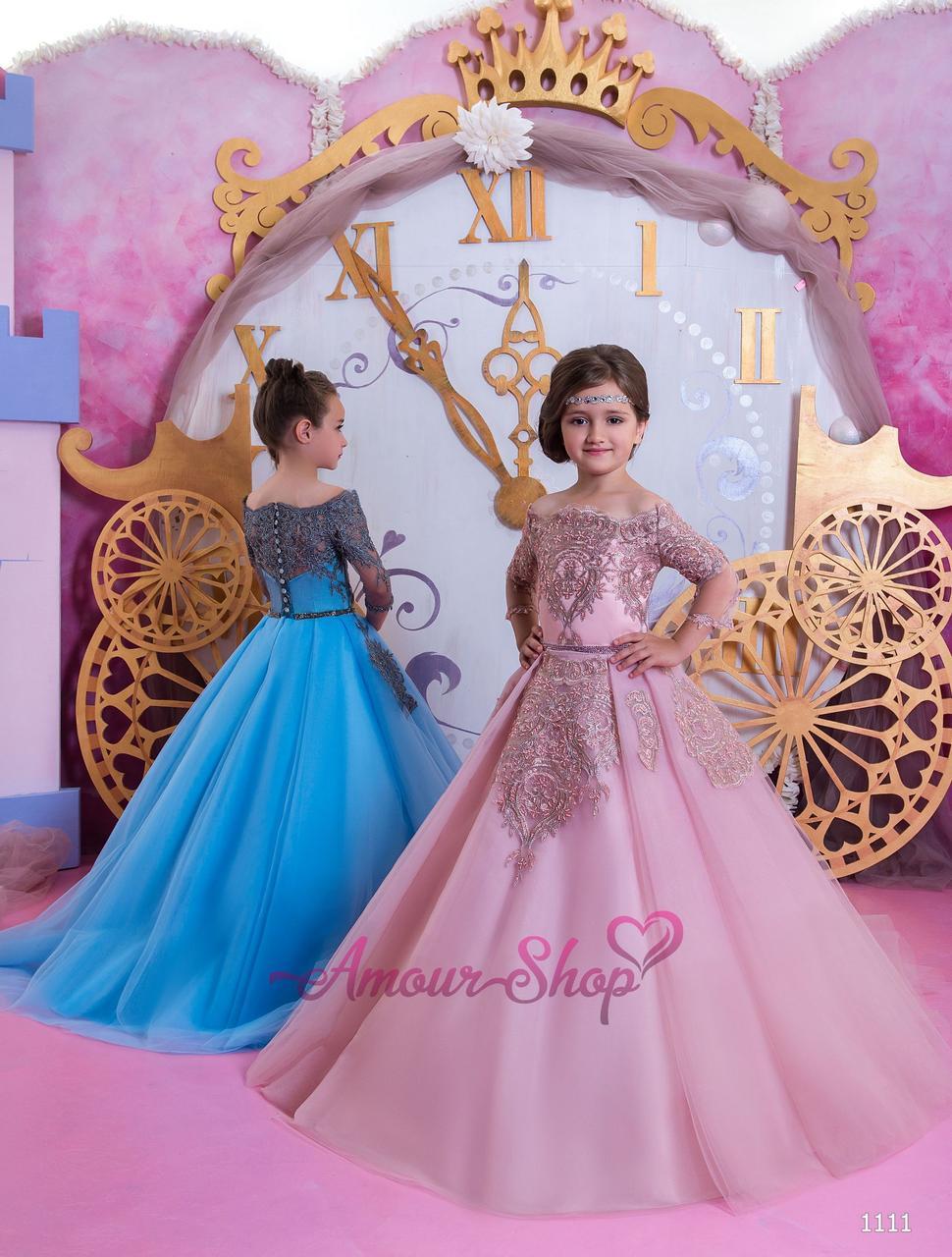Vip детское нарядное/ вечернее  платье 1111