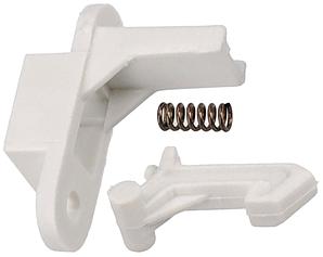 Суппорт (направляющая) крючка двери для стиральной машины Candy 92676287