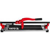 Плиткорез ручной рельсовый профессиональный Yato YT-3706 500мм