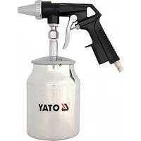 Пистолет для пескоструйной обработки компрессором Yato YT-2376