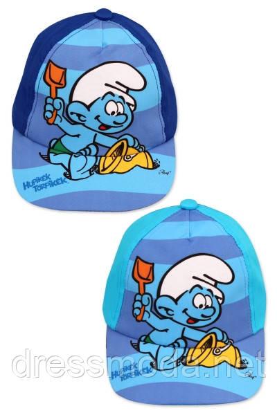 Кепки детские для мальчиков Smurf  от Disney 48-50 cm