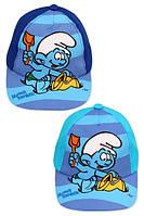 Кепки детские для мальчиков Smurf  от Disney 48-50 cm, фото 1
