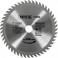 Пильный диск по дереву Yato YT-6058 160х20х48зубов