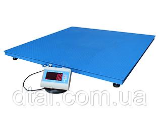 Весы платформенные 1250*1250 мм. до 600 кг.