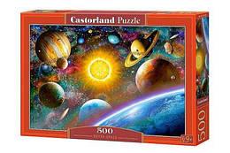 """Пазлы """"Открытый космос"""", 500 элементов (вселенная, планеты, звезды, зведное небо, космические)"""