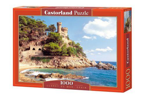 """Пазлы """"Замок на берегу, Lloret de Mar, Spain"""", 1000 эл"""