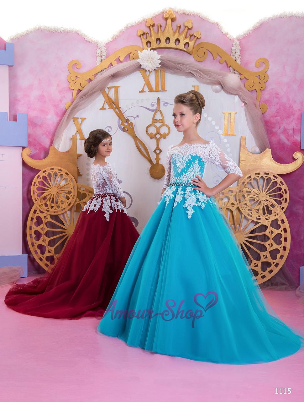 Vip детское нарядное/ вечернее  платье 1115