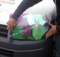 Пленка хамелеон для тонировки фар фиолетовая