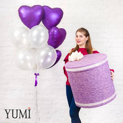 Стильное оформление из воздушных шаров для девушки, фото 2