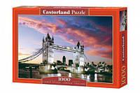 """Пазлы """"Ночной мост, Tower Bridge, London, England"""", 1000 эл"""
